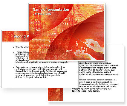 Classical Music PowerPoint Template #02174