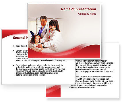 Child Health PowerPoint Template #02179
