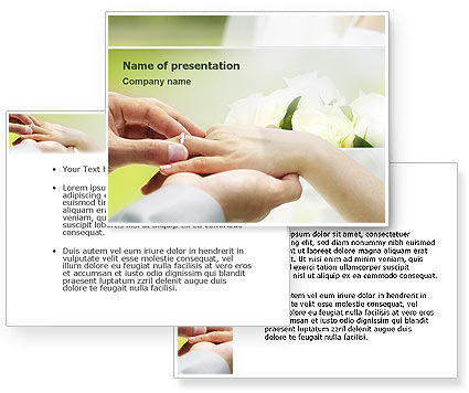 Wedding Vows PowerPoint Template Wedding Vows Background for PowerPoint