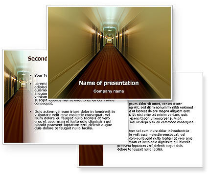 Hotel PowerPoint Template #02330