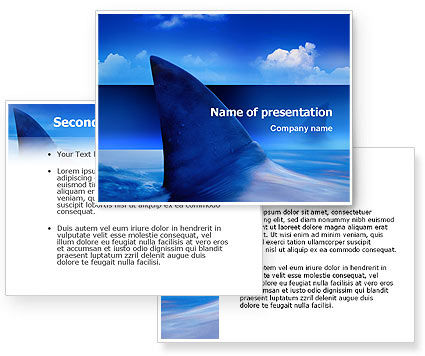 Shark Powerpoint Shark Powerpoint Shark Presentation Template For