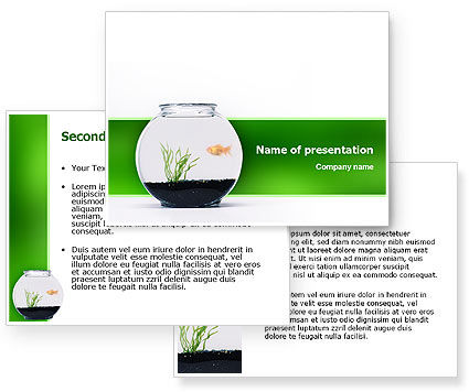Aquarium Fish PowerPoint Template #02508