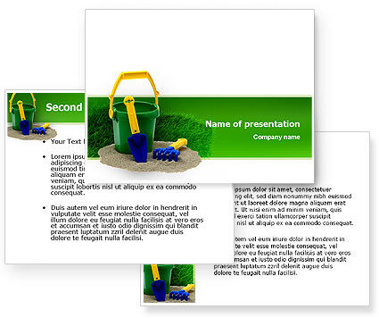 Child's play PowerPoint Template #02520