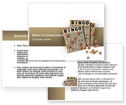 Bingo PowerPoint Template #02531
