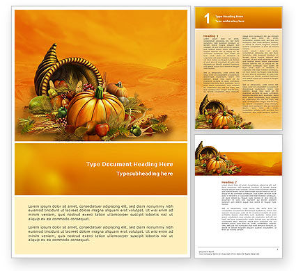 Thanksgiving day word template 02819 for Free thanksgiving templates for word