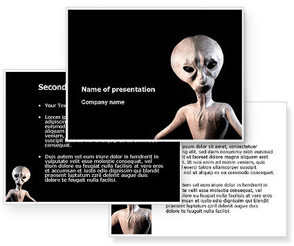 Alien PowerPoint Template #02976