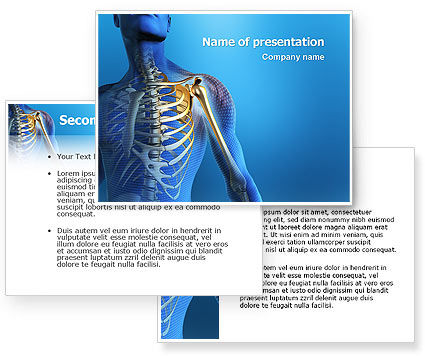 Bones PowerPoint Template #03063