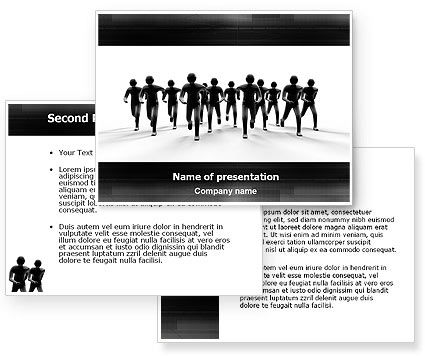 Revolution PowerPoint Template #03136