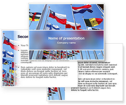 United Nations PowerPoint Template #03169