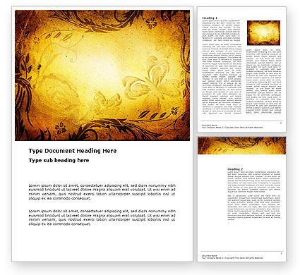 Fairy tale word template 03523 for Fairy tale book cover template
