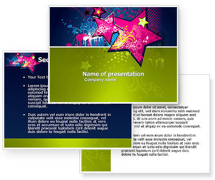 Graphic Design PowerPoint Template #03537