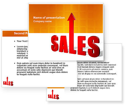 Sales PowerPoint Template #03579