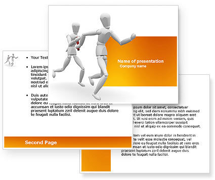 Relay PowerPoint Template #03608
