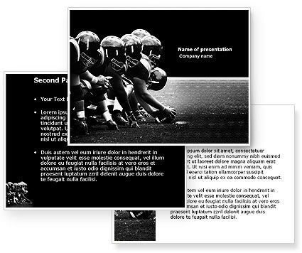 American Football Dallas Cowboys PowerPoint Template #03653