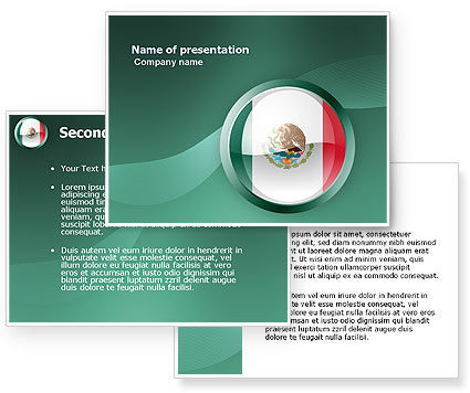 Mexico PowerPoint Template #03681