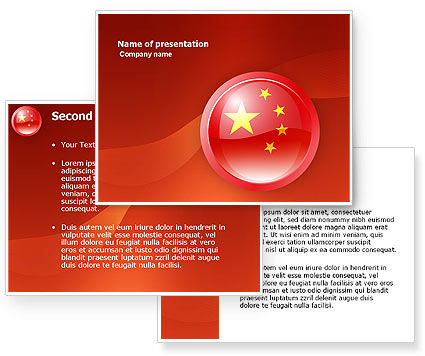 China powerpoint template 28 images flag of china template flag flag of china powerpoint template poweredtemplate toneelgroepblik Gallery