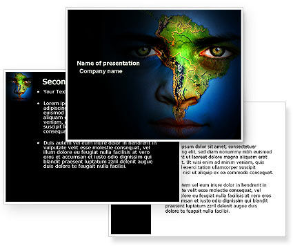 South America PowerPoint Template #04210