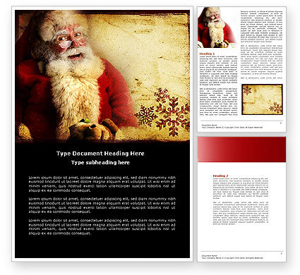 Santa Letterhead Word Free Santa Clause Word