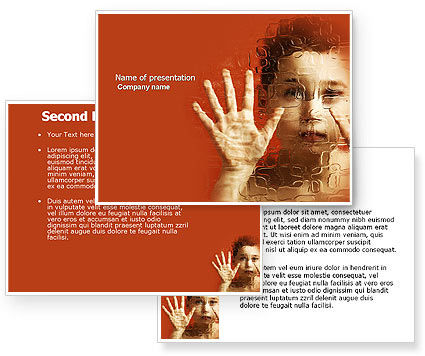 Autism powerpoint background pictures to pin on pinterest clanek autism powerpoint template poweredtemplatecom toneelgroepblik Gallery