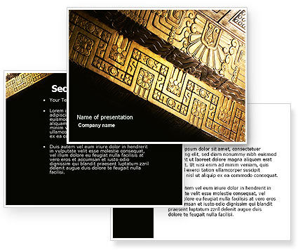 Indigenous Culture PowerPoint Template #04298