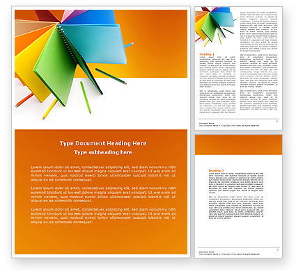 Color Chart Template Download MS Word 20Format