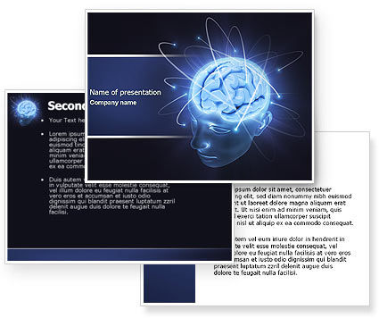 Background Brain Waves Brain Waves Powerpoint