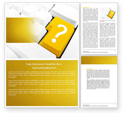 Technical manual word template 04497 for Technical instructions template