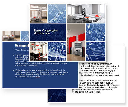 Interior Design In 3d Modeling Powerpoint Template 04699 3 Backgrounds