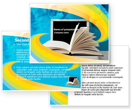 Elearning powerpoint template 04807