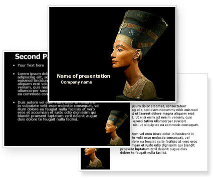 Nefertiti PowerPoint Template #05189