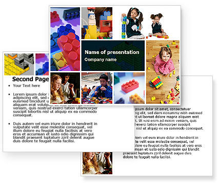 Lego PowerPoint Template #05258