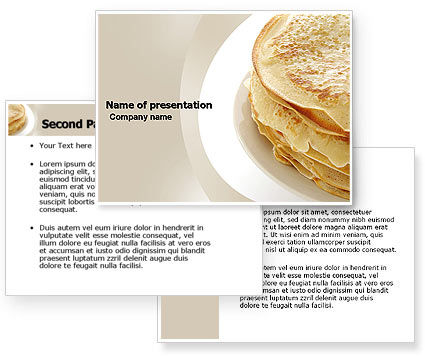 Pancakes PowerPoint Template #05343