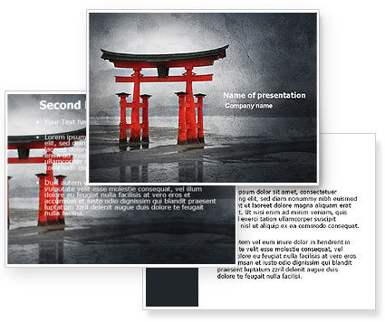 Ancient Japan PowerPoint Template #05350