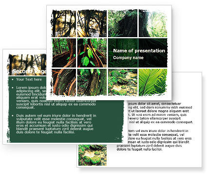 Jungle PowerPoint Template #05476