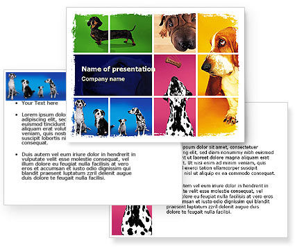 Dog Breed PowerPoint Template #05529