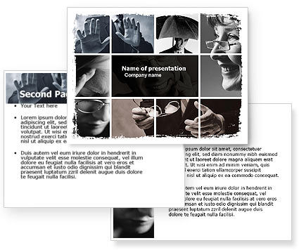 Non-Verbal Signs In Business Communication PowerPoint Template #05598