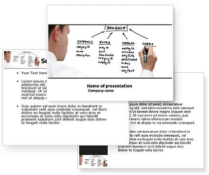 Database PowerPoint Template #05734