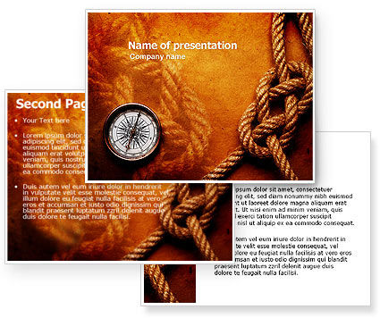 Marine PowerPoint Template #05777