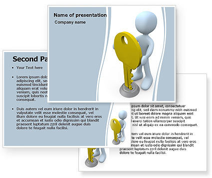 Unlock PowerPoint Template #06177