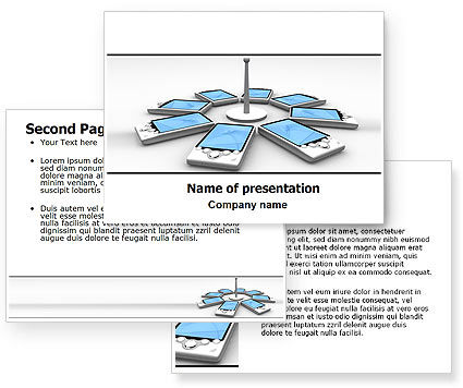 Wi-Fi Point PowerPoint Template #06317