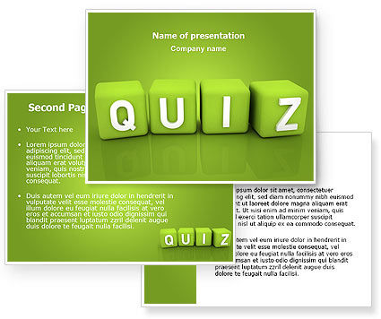 quiz powerpoint template backgrounds 06875. Black Bedroom Furniture Sets. Home Design Ideas