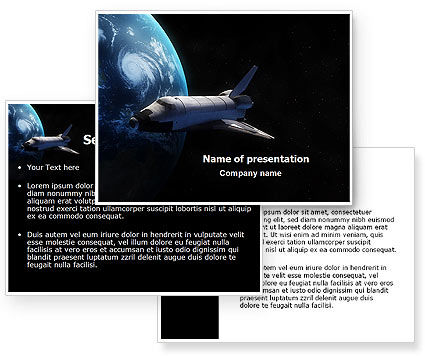 space shuttle powerpoint template - photo #5