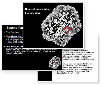 White Blood Cell PowerPoint Template #07083