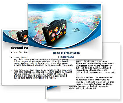 Powerpoint Templates Tourism