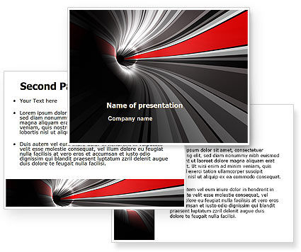 Time-Space Continuum PowerPoint Template #08103