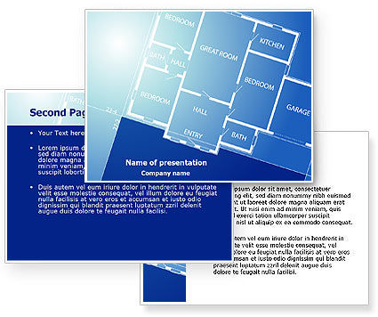 Room Layout Planning Powerpoint Template Poweredtemplate