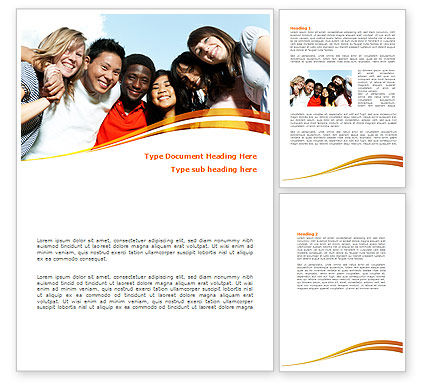 summer camp word template 08110 poweredtemplatecom