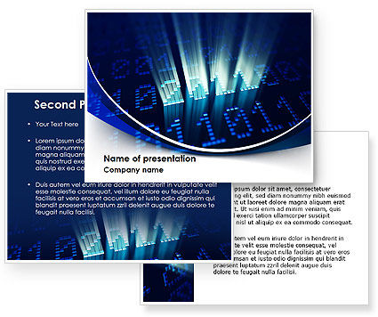 2011 Digits PowerPoint Template #08288