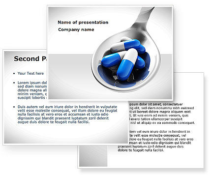 pharmacology powerpoint template poweredtemplatecom