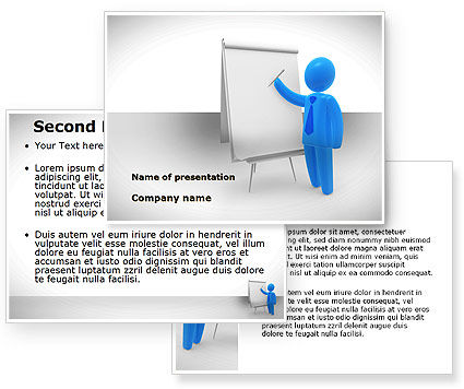 Whiteboard PowerPoint Template #08755
